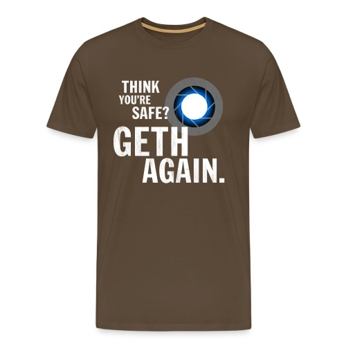 Geth Again Design - Men's Premium T-Shirt