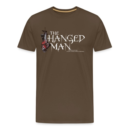 The Hanged Man Design - Men's Premium T-Shirt