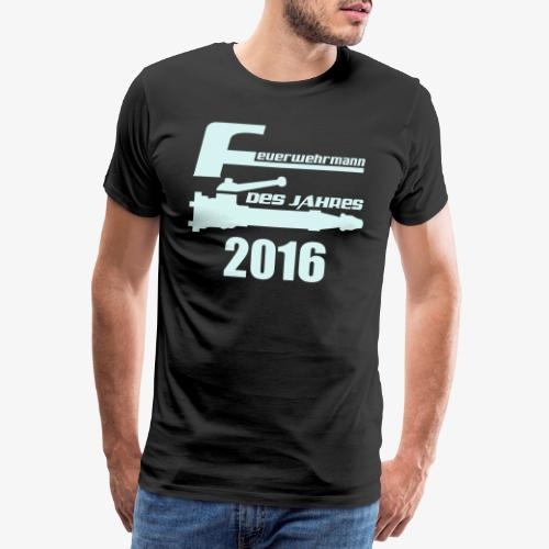 Feuerwehrmann des Jahres - Männer Premium T-Shirt