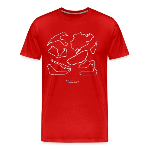 T-Shirt Premium Homme Endurance Tracks - T-shirt Premium Homme