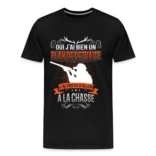 Plan De Retraite Chasse - T-shirt Premium Homme