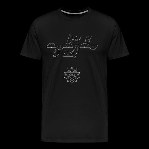 Serie 03 | Small stellated icosahedron - Camiseta premium hombre
