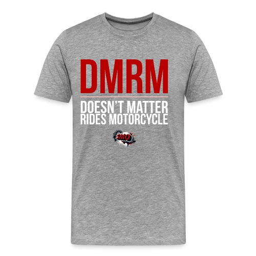 large_DMRM_white - Men's Premium T-Shirt