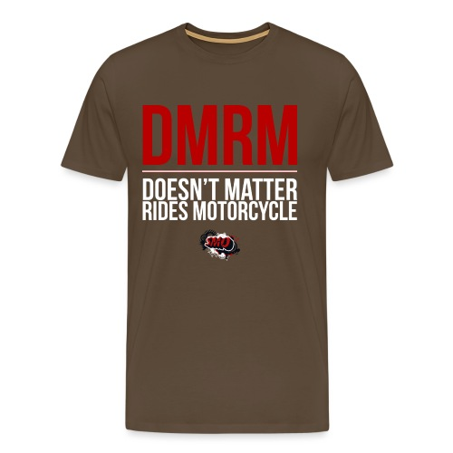 large_DMRM_white - Men's Premium T-Shirt