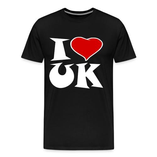 England - Ich Liebe UK - Männer Premium T-Shirt