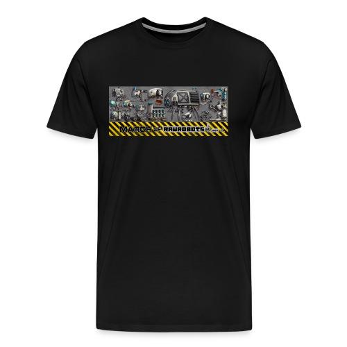 #MarchOfRobots ! LineUp Nr 1 - Herre premium T-shirt