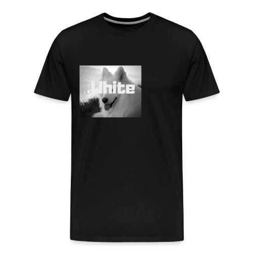 +++ WHITE DOG GESCHENKIDEE +++ - Männer Premium T-Shirt