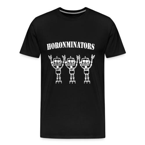 Horonminators White - Männer Premium T-Shirt