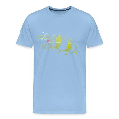 Angry Dino Wasp - Mannen Premium T-shirt