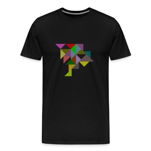Dreiecke - Männer Premium T-Shirt