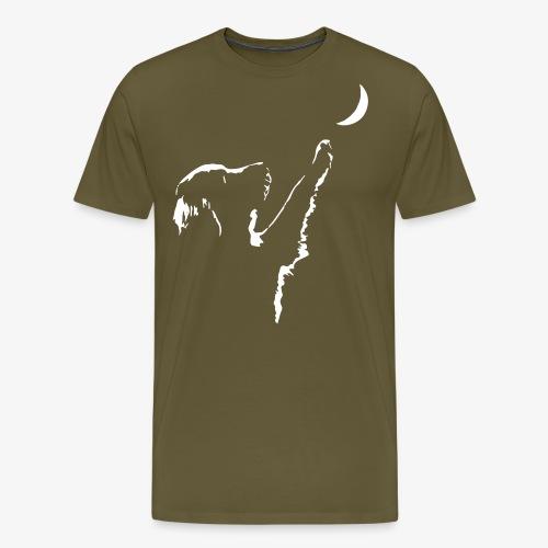 dog moon - Männer Premium T-Shirt