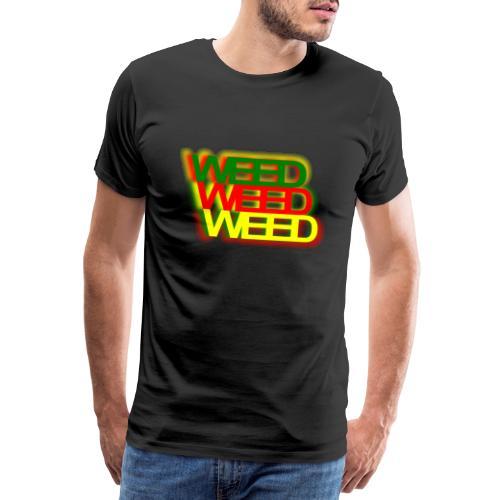 weedraggie jpg png - Männer Premium T-Shirt