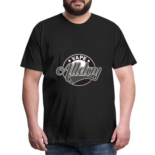 Vape Design Allday - Mannen Premium T-shirt