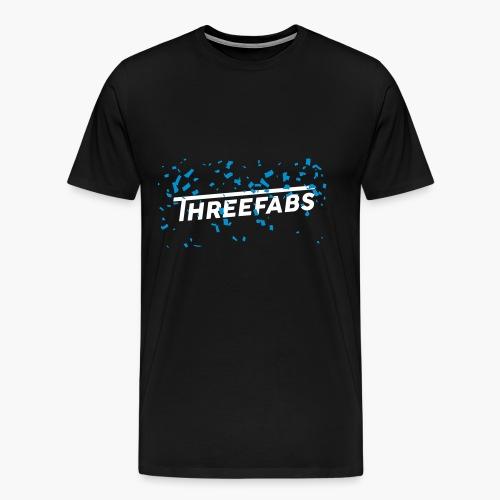 DJ ThreeFabs Blau - Männer Premium T-Shirt