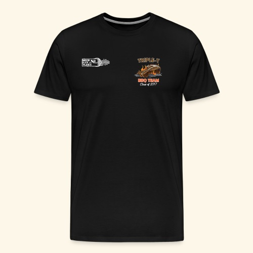 Triple T 2017 front - Mannen Premium T-shirt