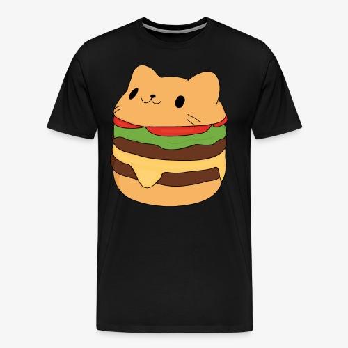 cat burger - Men's Premium T-Shirt