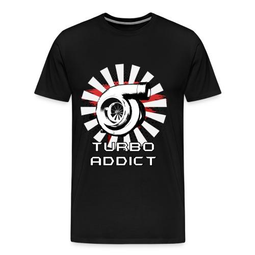 Turbo Addict - T-shirt Premium Homme
