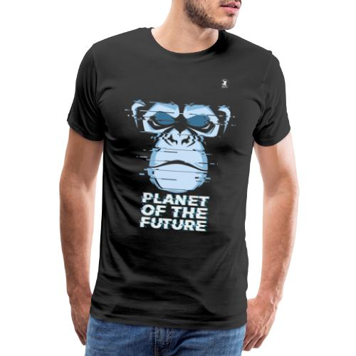 Planet of the future - Maglietta Premium da uomo