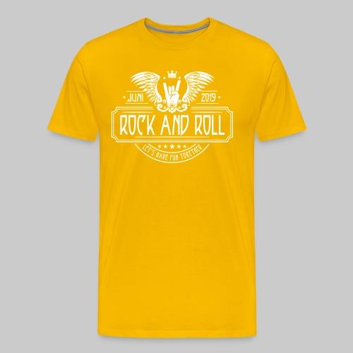 Rock and Roll - Männer Premium T-Shirt