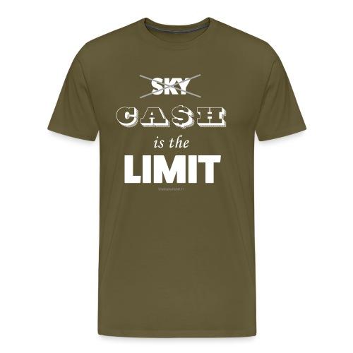 Cash is the limit - T-shirt Premium Homme