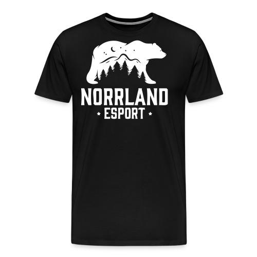 NorrlandEsport - Premium-T-shirt herr