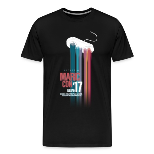 Logo MaricCon 2017 - Camiseta premium hombre