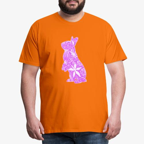 Flower Bunny IV - Miesten premium t-paita
