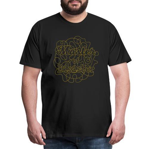 Master of disaster - Männer Premium T-Shirt