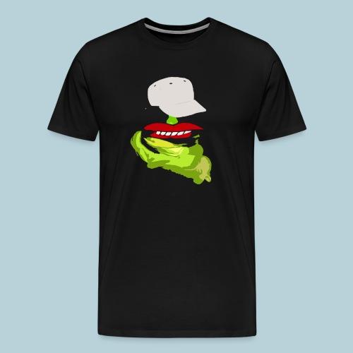 FAT LAZY FROG MooshFace - Men's Premium T-Shirt