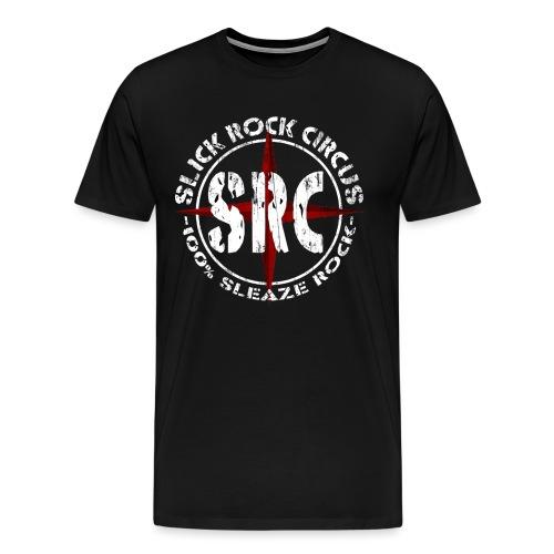 SRC Logo Vintage Round - Männer Premium T-Shirt