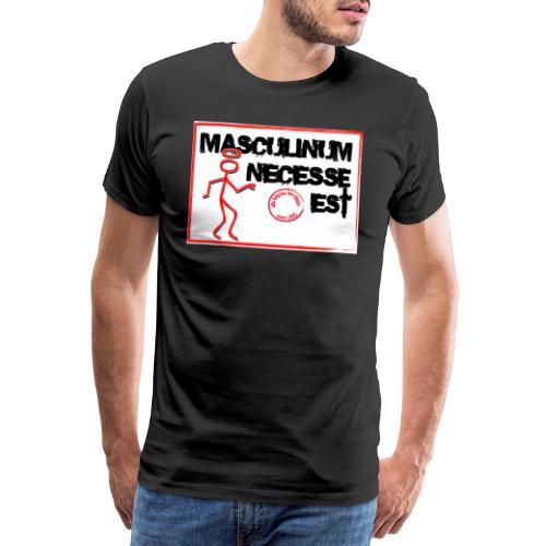 ahhk - Premium-T-shirt herr