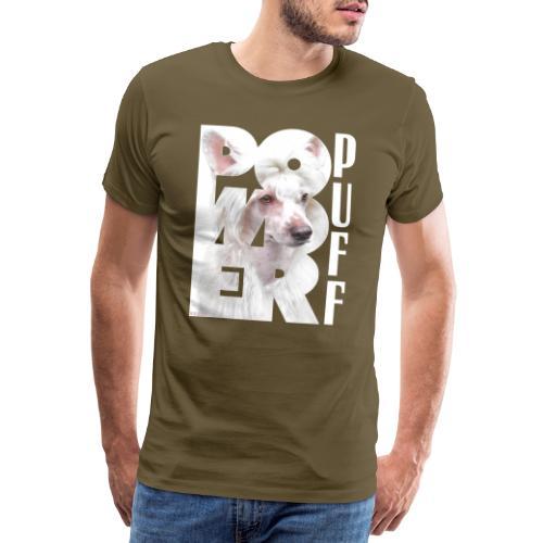Powderpuff II - Miesten premium t-paita