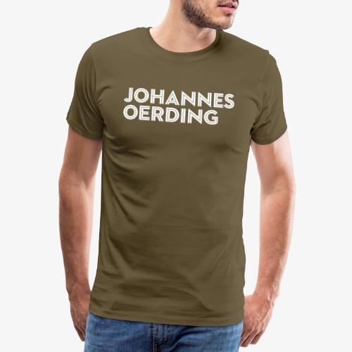 Johannes Oerding Schriftzug - Männer Premium T-Shirt