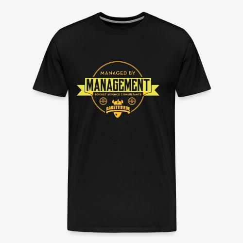 MGMT korjattu - Miesten premium t-paita