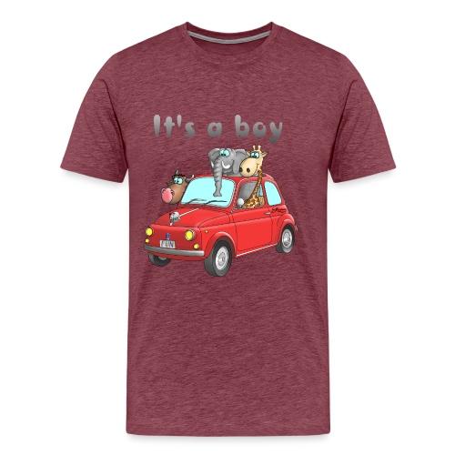 It's a boy - Baby - Cartoon - lustig - Männer Premium T-Shirt