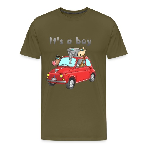 It's a boy - Baby - Cartoon - lustig - Männer Premium T-Shirt