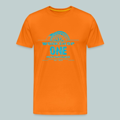 türkis.png - Männer Premium T-Shirt