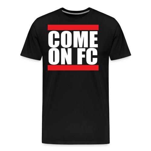 Come On FC - Herre premium T-shirt