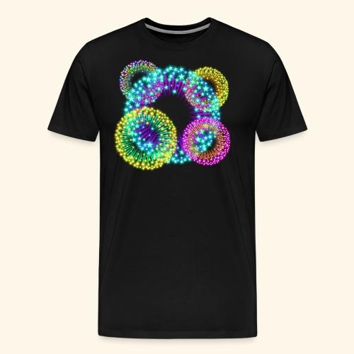 Feuerwerk - Männer Premium T-Shirt