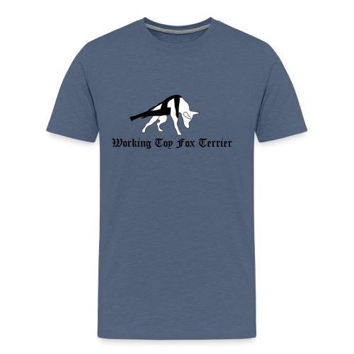 tft working4 vari - Miesten premium t-paita