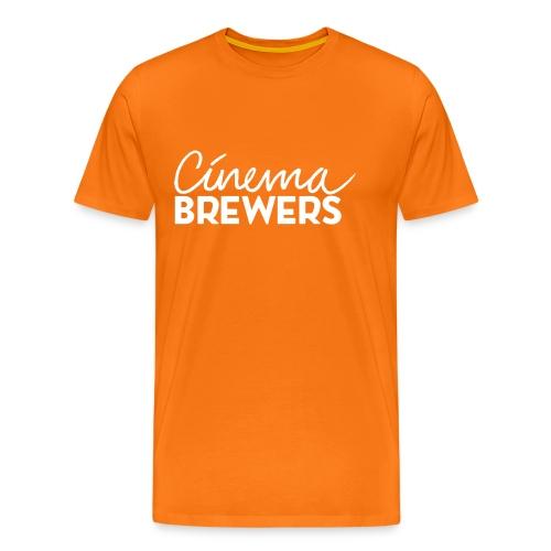 Cinema Brewers - Mannen Premium T-shirt