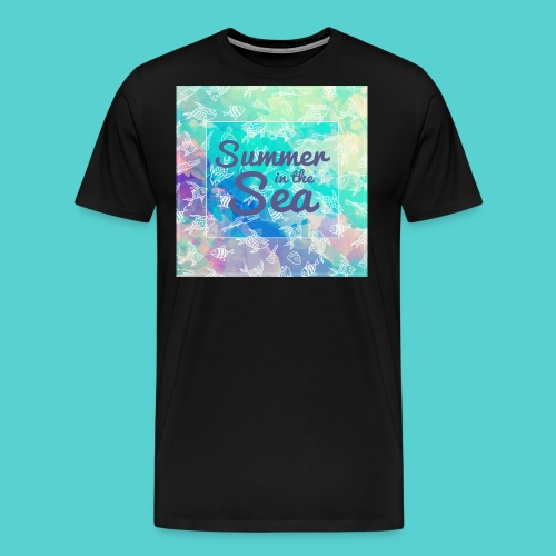 Summer in the Sea - T-shirt Premium Homme