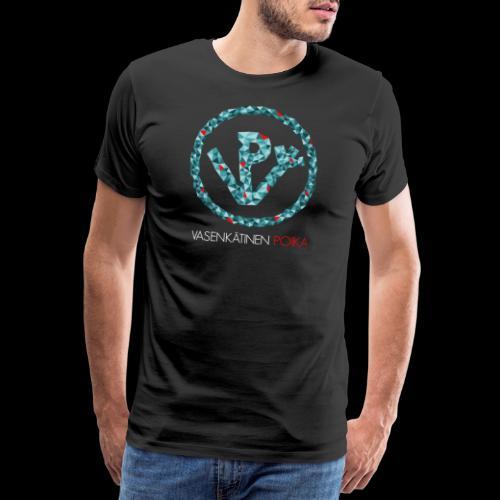 VP Mosaiikki - Miesten premium t-paita