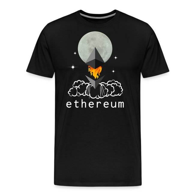 Ethereum Cryptocurrency To The Moon