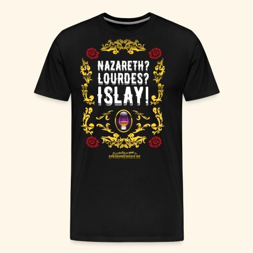 Funny Islay Shirt for Whisky Lovers - Männer Premium T-Shirt
