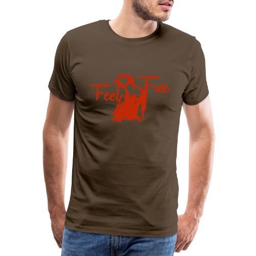 sexy girl feel free hot woman - Männer Premium T-Shirt