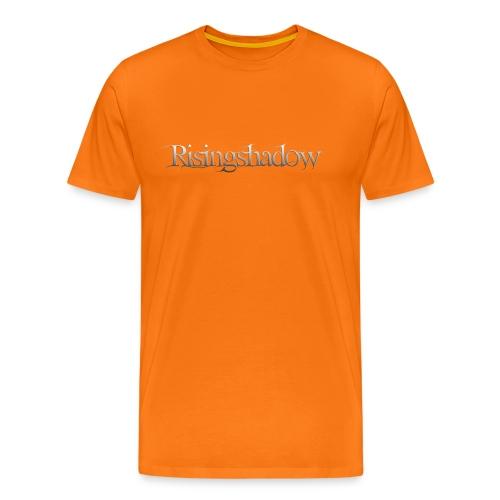 Risingshadow vaalea - Miesten premium t-paita