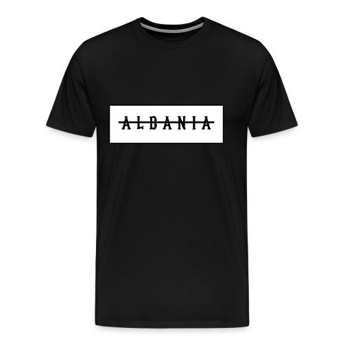 ALBANIA W png - Männer Premium T-Shirt