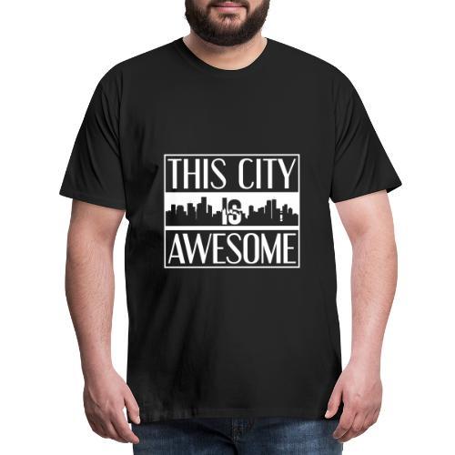 Großstadt genial - Men's Premium T-Shirt