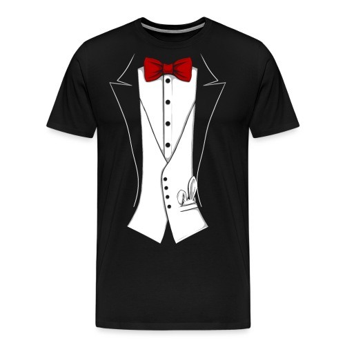 Tuxedo2 - Männer Premium T-Shirt